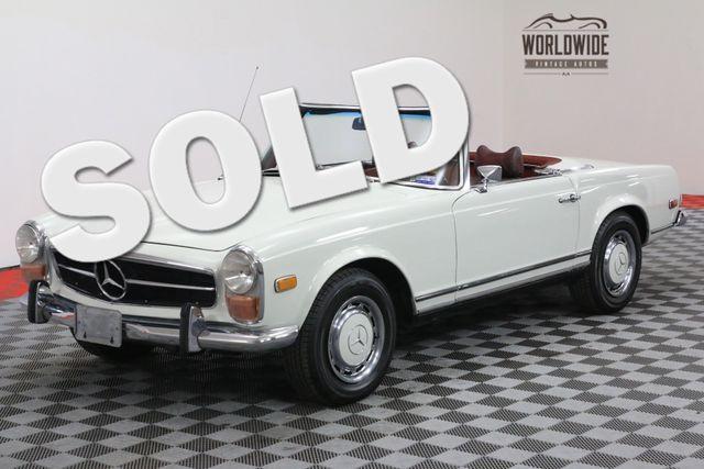 1971 Mercedes-Benz 280SL AUTOMATIC 2 TOP CONVERTIBLE  | Denver, Colorado | Worldwide Vintage Autos