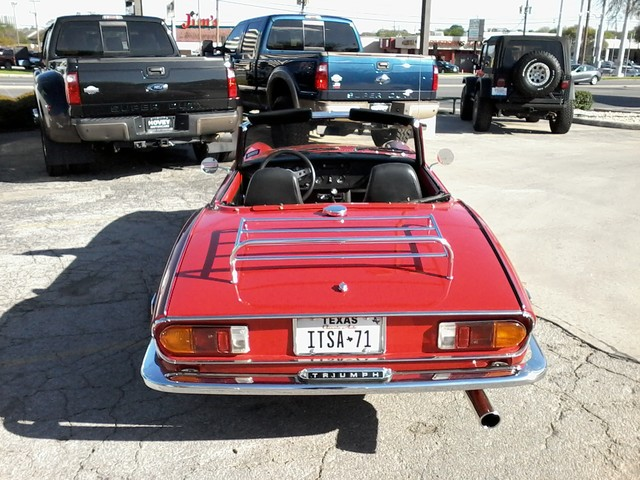 1971 Triump SPITFIRE  IV San Antonio, Texas 5