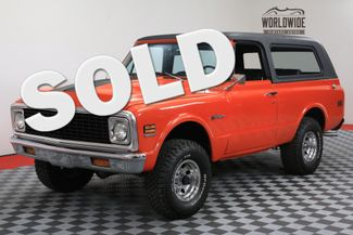 1972 Chevrolet BLAZER EXTENSIVE RESTORATION HUGGER ORANGE SHOW 4X4 | Denver, Colorado | Worldwide Vintage Autos in Denver Colorado