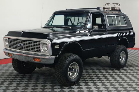 1972 Chevrolet BLAZER CST MIDNIGHT BLACK CONVERTIBLE 4X4 V8 PS PB | Denver, Colorado | Worldwide Vintage Autos in Denver, Colorado