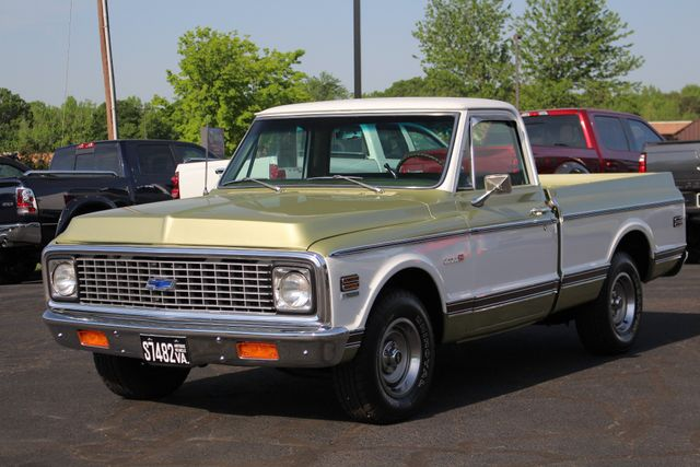 1972 Chevrolet Cheyenne 10 RWD - 350 V8 - AUTO - AIR CONDITIONING! Mooresville , NC 21