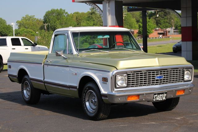 1972 Chevrolet Cheyenne 10 RWD - 350 V8 - AUTO - AIR CONDITIONING! Mooresville , NC 20