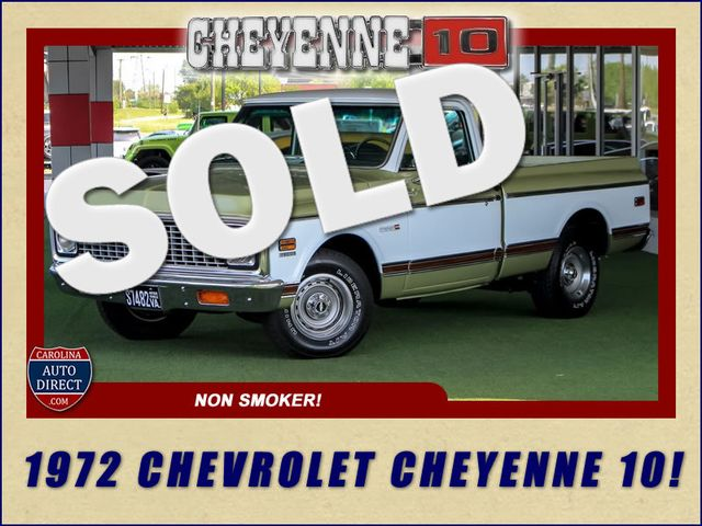 1972 Chevrolet Cheyenne 10 RWD - 350 V8 - AUTO - AIR CONDITIONING! Mooresville , NC 0