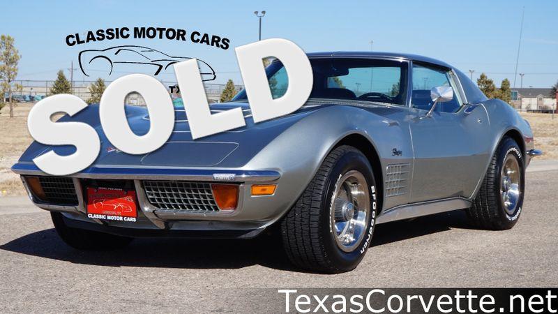 1972 Chevrolet Corvette LT-1 | Lubbock, Texas | Classic Motor Cars