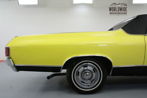1972 Chevrolet EL CAMINO RESTORED V8 AC CAR SHOW OR GO | Denver, CO | Worldwide Vintage Autos in Denver, CO