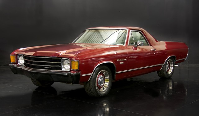 1972 Chevrolet EL CAMINO    Milpitas, California   NBS Auto Showroom