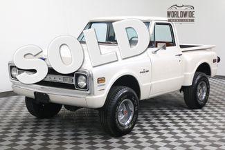 1972 Chevrolet PICKUP SHORTBOX STEPSIDE BIG BLOCK AUTO PEARL WHITE | Denver, Colorado | Worldwide Vintage Autos in Denver Colorado