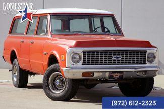 1972 Chevrolet Suburban Custom Deluxe Matching Numbers 4x4 3 Door Rear Air