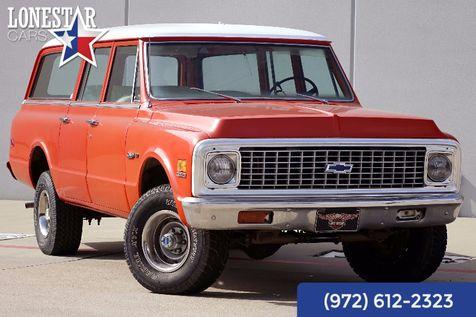 1972 Chevrolet Suburban Custom Deluxe Matching Numbers 4x4 3 Door Rear Air in Plano