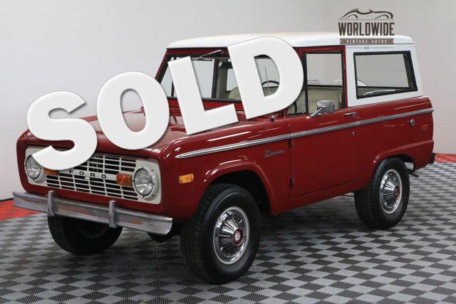 1972 Ford BRONCO UNCUT 02 V8 PS 4X4  | Denver, Colorado | Worldwide Vintage Autos