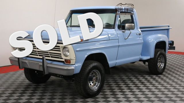 1972 Ford F-100 FULLY RESTORED 4X4 351 V8 4-SPEED MANUAL | Denver, Colorado | Worldwide Vintage Autos