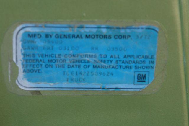 1972 GMC 1500 Super Custom Phoenix, AZ 36