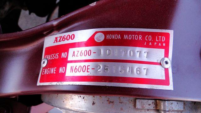 1972 Honda Z-600 COUPE Phoenix, Arizona 15