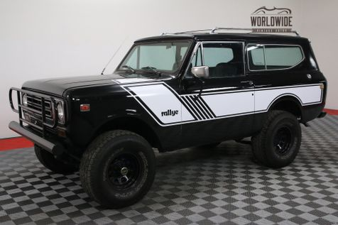 1972 International SCOUT RALLYE TRIPLE BLACK 4X4 AUTO PS PB | Denver, Colorado | Worldwide Vintage Autos in Denver, Colorado