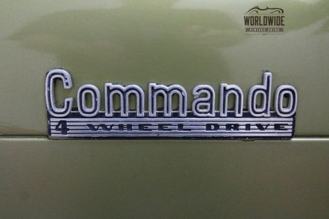 1972 Jeep COMMANDO RESTORED WITH MANY UPGRADES A/C RARE | Denver, CO | Worldwide Vintage Autos in Denver, CO