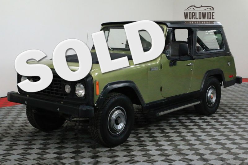 1972 Jeep COMMANDO RESTORED WITH MANY UPGRADES A/C RARE | Denver, CO | Worldwide Vintage Autos
