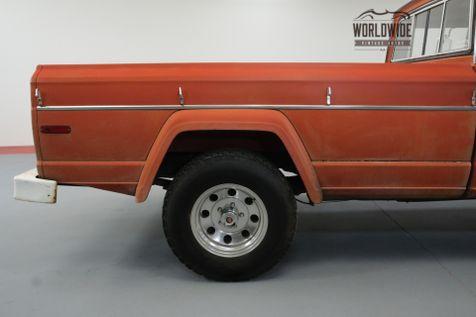 1972 Jeep J4000 GLADIATOR 24K ORIGINAL MILES 3/4 TON AC | Denver, CO | Worldwide Vintage Autos in Denver, CO