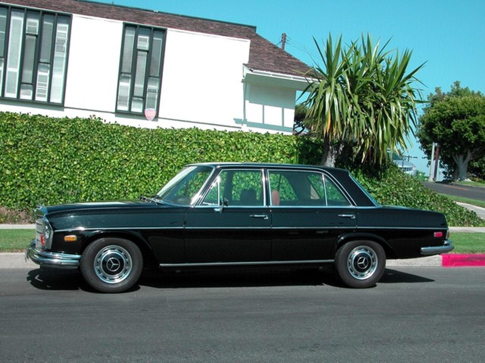 1972 mercedes benz 280 sel 45 super clean collectible for Mercedes benz roseville ca