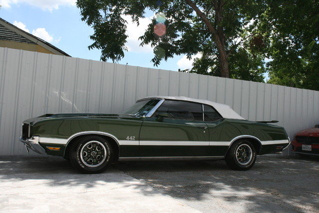 1972 Olds Mobile 442 Convertible Houston, Texas 1