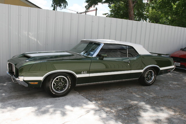 1972 Olds Mobile 442 Convertible Houston, Texas 2