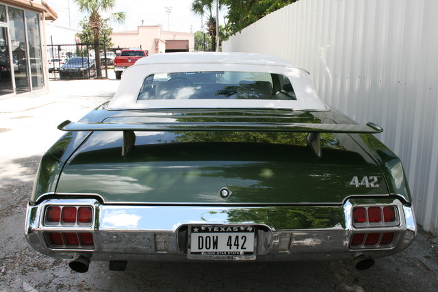 1972 Olds Mobile 442 Convertible Houston, Texas 4