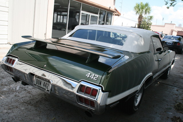1972 Olds Mobile 442 Convertible Houston, Texas 5