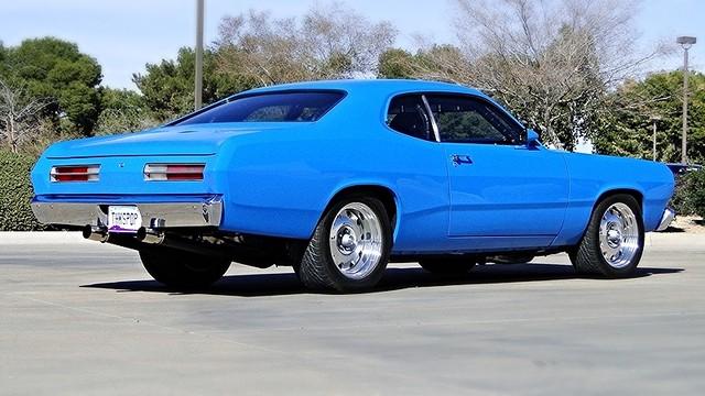 1972 Plymouth HEMI DUSTER RESTO-MOD Phoenix, Arizona 3