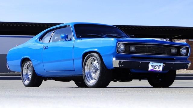 1972 Plymouth HEMI DUSTER RESTO-MOD Phoenix, Arizona 15