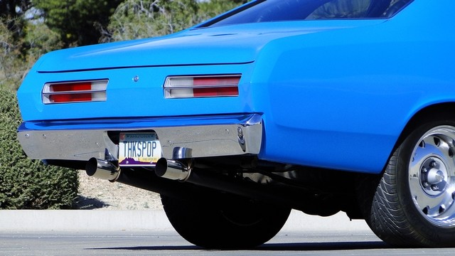 1972 Plymouth HEMI DUSTER RESTO-MOD Phoenix, Arizona 11