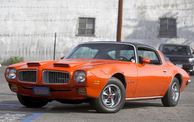 1972 Pontiac Firebird  Formula 350 - Factory AC - matching numbers  city California  MDK International  in Los Angeles, California