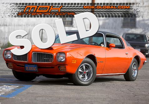 1972 Pontiac Firebird  Formula 350 - Factory AC - matching numbers in Los Angeles