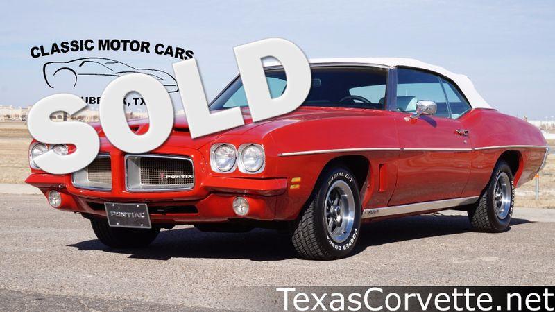 1972 Pontiac LeMans  | Lubbock, Texas | Classic Motor Cars