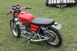 1972 Suzuki GT380 SEBRING MADE TO ORDER CAFE RACER BRAT STYLE MOTORCYCLE Mendham, New Jersey 3