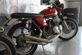 1972 Suzuki GT380 SEBRING MADE TO ORDER CAFE RACER BRAT STYLE MOTORCYCLE Mendham, New Jersey 8
