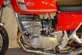 1972 Suzuki GT380 SEBRING MADE TO ORDER CAFE RACER BRAT STYLE MOTORCYCLE Mendham, New Jersey 20