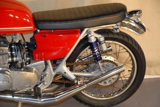 1972 Suzuki GT380 SEBRING MADE TO ORDER CAFE RACER BRAT STYLE MOTORCYCLE Mendham, New Jersey 21