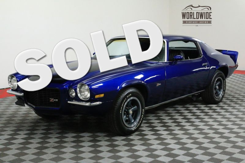 1973 Chevrolet CAMARO Z28 RS RESTORED NEW CRATE V8 TRUE T CODE | Denver, CO | Worldwide Vintage Autos