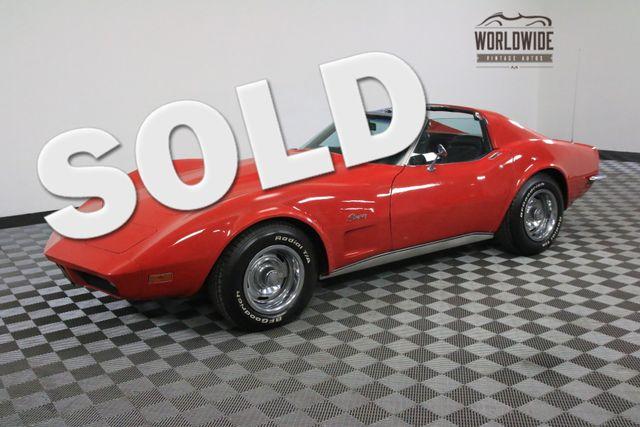 1973 Chevrolet CORVETTE 350 V8 TURBO 350 TRANSMISSION | Denver, Colorado | Worldwide Vintage Autos