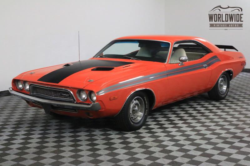 1973 Dodge CHALLENGER V8 AUTO HEMI ORANGE