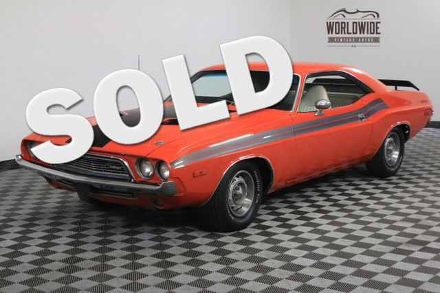 1973 Dodge CHALLENGER V8 AUTO HEMI ORANGE | Denver, Colorado | Worldwide Vintage Autos