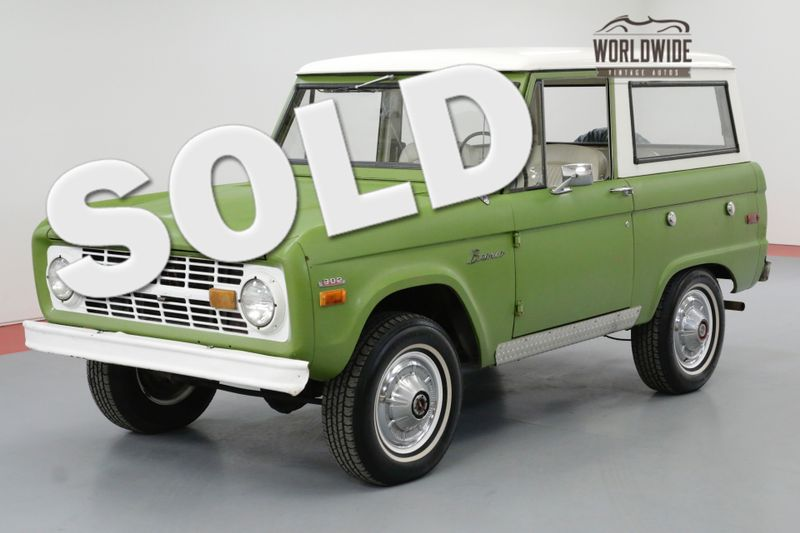 1973 Ford BRONCO UNCUT 4X4 302 V8 FACTORY AC ORIGINAL | Denver, CO | Worldwide Vintage Autos