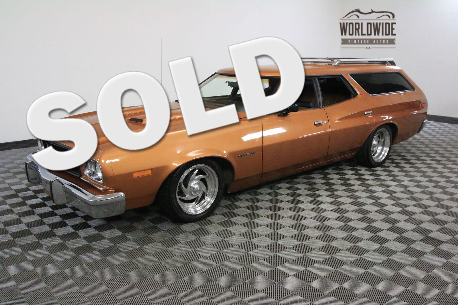 1973 Orange Rare V8 Wagon Auto Used Ford Torino For Sale In Denver Colorado Usa Vehicles