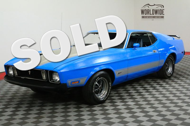 1973 Ford MUSTANG MACH 1 FACTORY 302V8! 4-SPEED MANUAL. | Denver, CO | Worldwide Vintage Autos