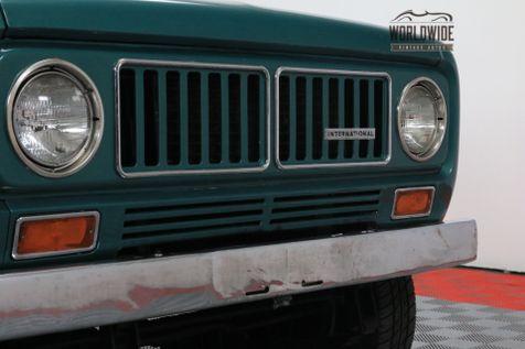 1973 International SCOUT V8 AUTO AC PS PB 4X4 ROOF RACK | Denver, Colorado | Worldwide Vintage Autos in Denver, Colorado