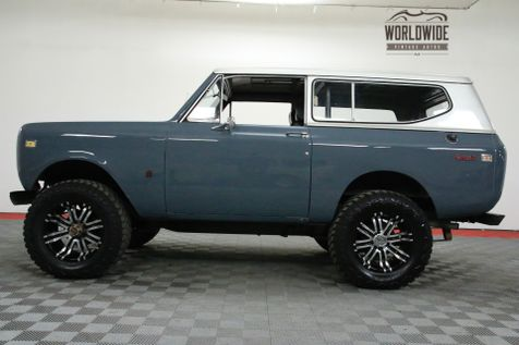 1973 International SCOUT II 345V8 AUTO 4.5 INCH LIFT 4X4 PS PB | Denver, CO | Worldwide Vintage Autos in Denver, CO