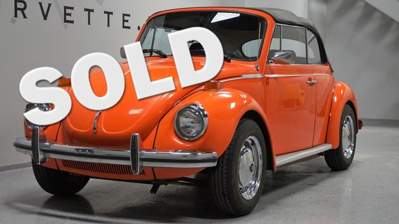 1973 Volkswagen Super Beetle Convertible