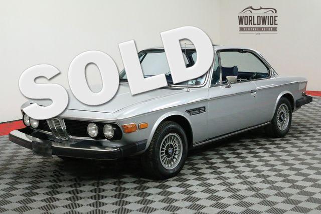 1974 BMW 3.0 CS SPORT COUPE! EXTREMELY RARE. SUNROOF.   Denver, Colorado   Worldwide Vintage Autos