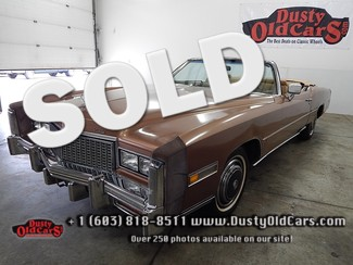 1976 Cadillac Eldorado Convert RunsDrives Great Excel Inter Body VGood 500CUV8 Derry, NH