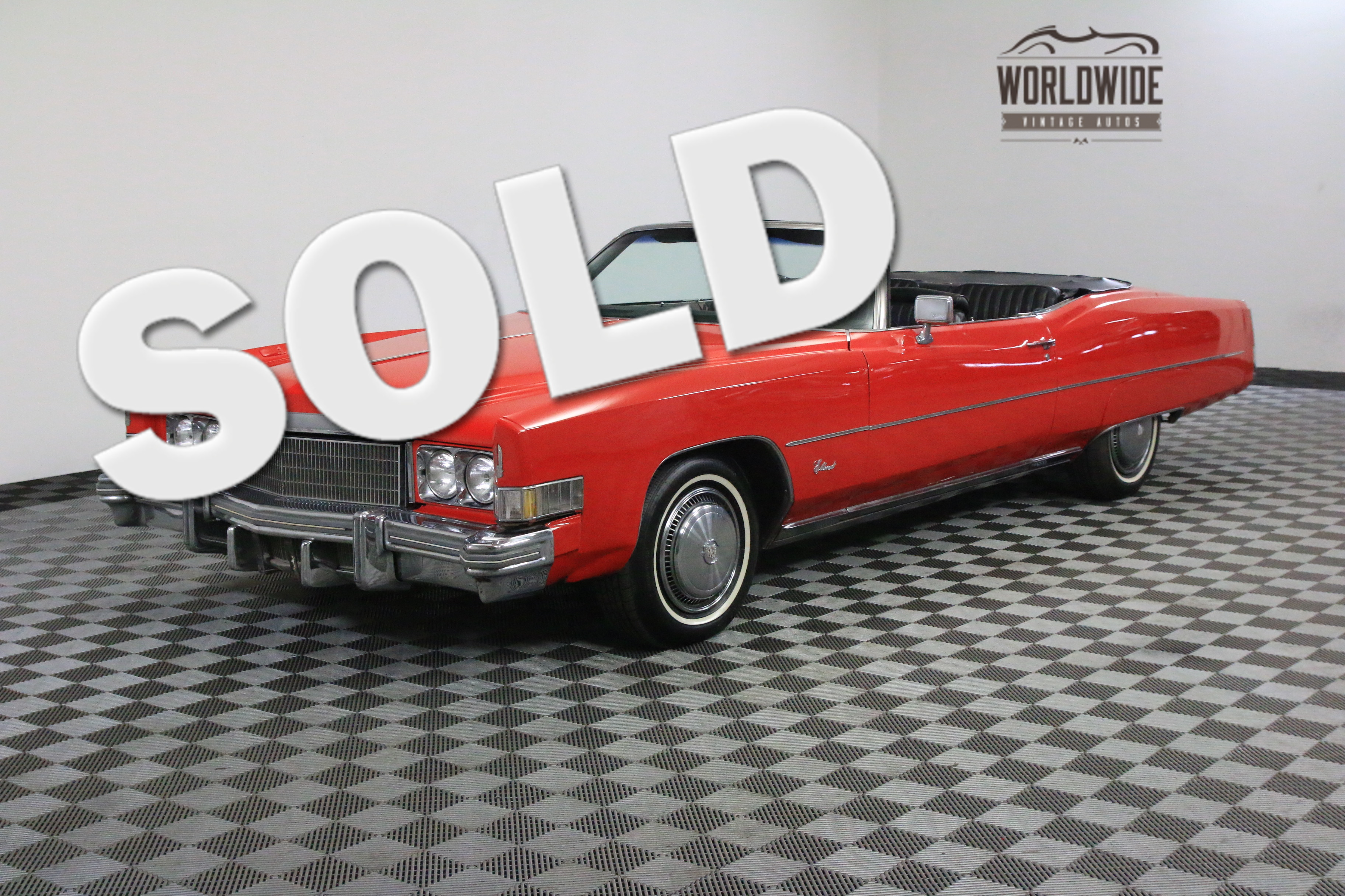 1974 Cadillac ELDORADO VEGAS SHOW CAR LOW MILES