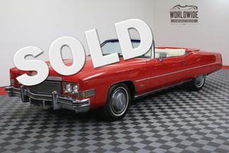 1974 Cadillac ELDORADO SHOW OR GO! STUNNING. LOW MILES | Denver, Colorado | Worldwide Vintage Autos in Denver Colorado